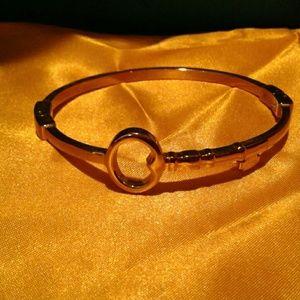 Key bangle bracelet